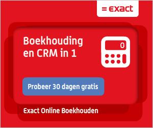 Online boekhouden via Exact
